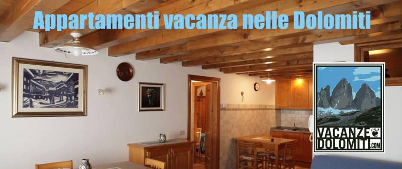 appartamenti per vacanze nelle Dolomiti